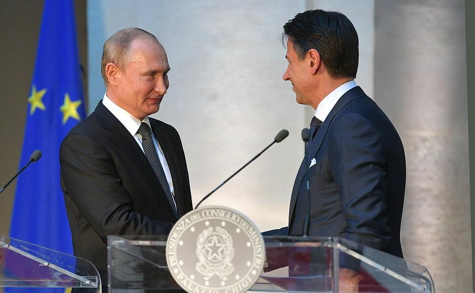 Нелепые и двусмысленные отношения европейских стран с Россией