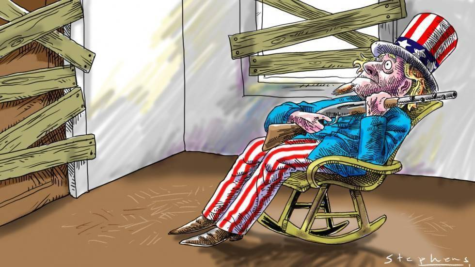Никто больше не принимает всерьез Америку