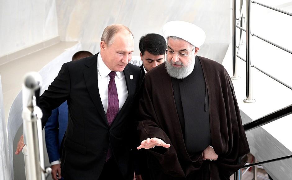 У России появится свой порт в Персидском заливе?
