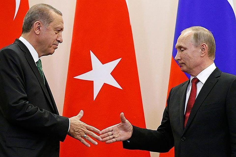 Расхождение взглядов на суверенитет Сирии между Путиным и Эрдоганом
