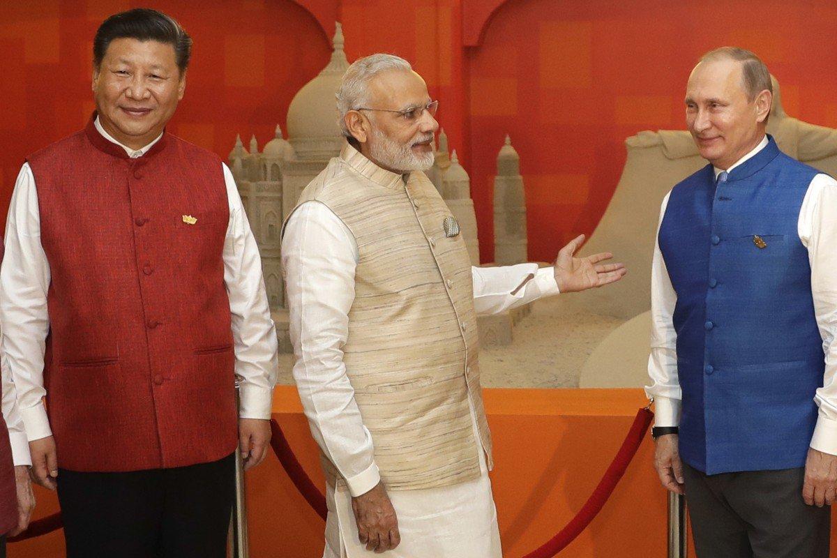Сближение Москвы и Нью-Дели представляет угрозу для Китая