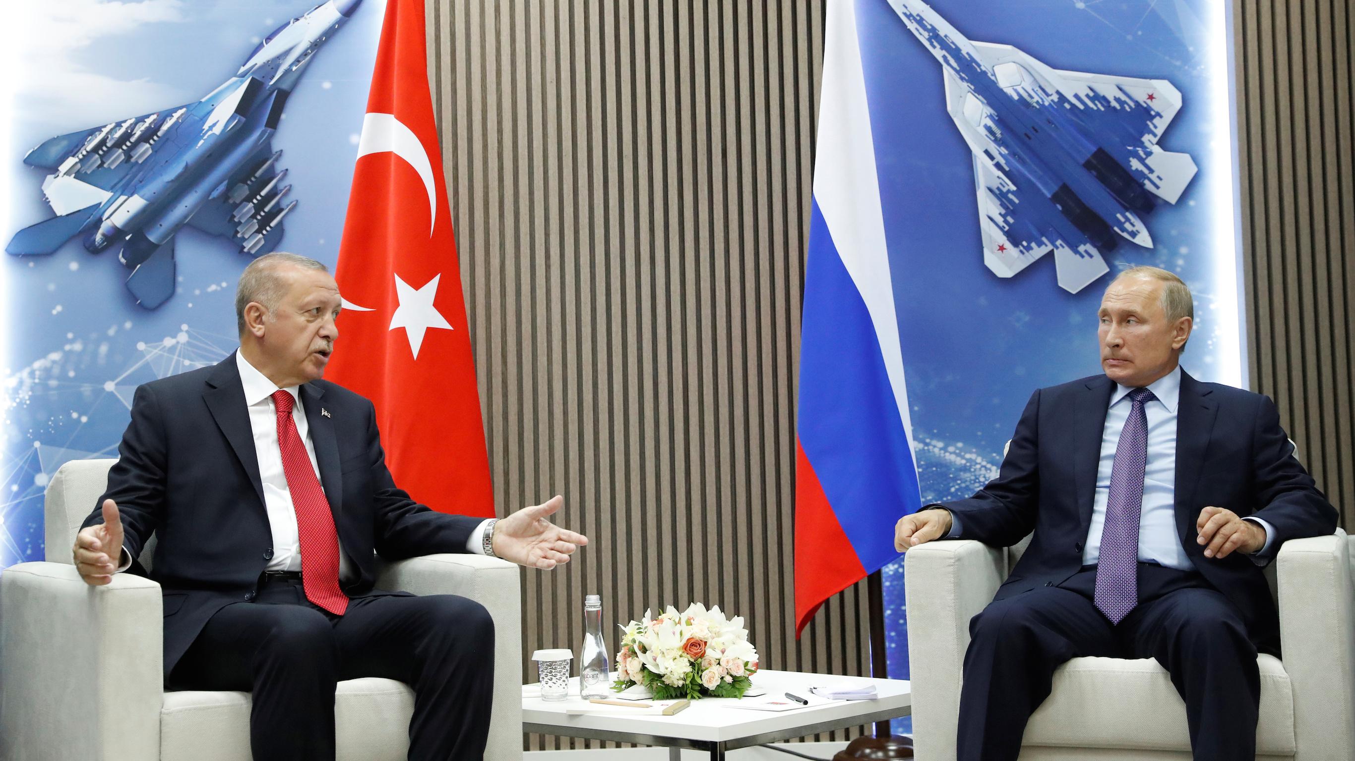 Путин не может выручить Эрдогана из идлибского переплета