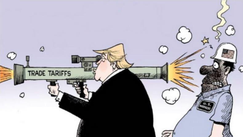 США серьёзно недооценили побочные эффекты развернутых ими торговых войн