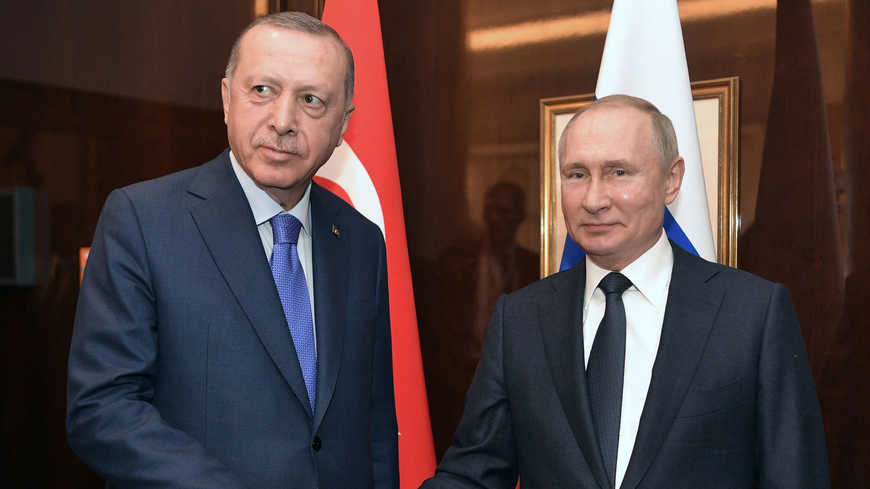 Эрдоган и Путин подтверждают свои взаимные обязательства в рамках «брака по расчету»