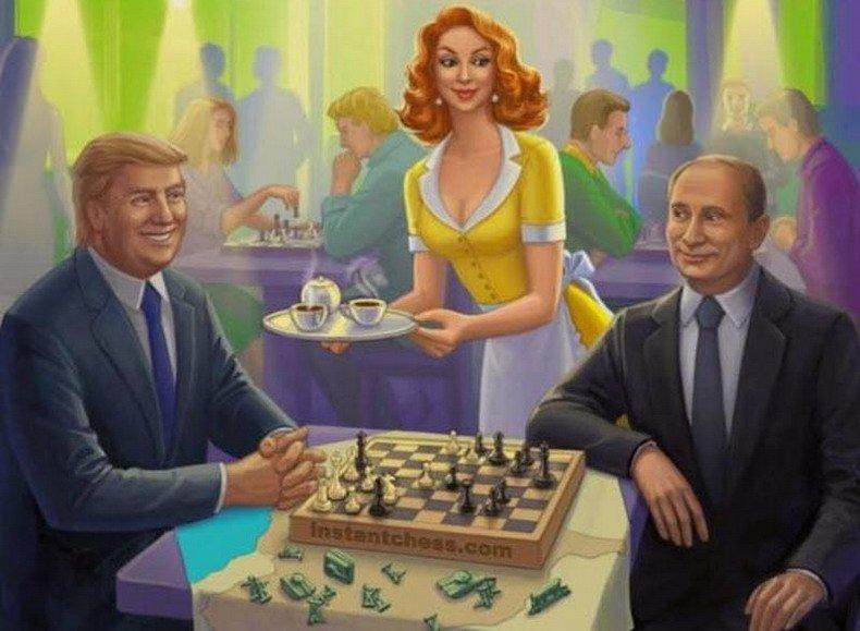 Путинская шпилька в американский пузырь
