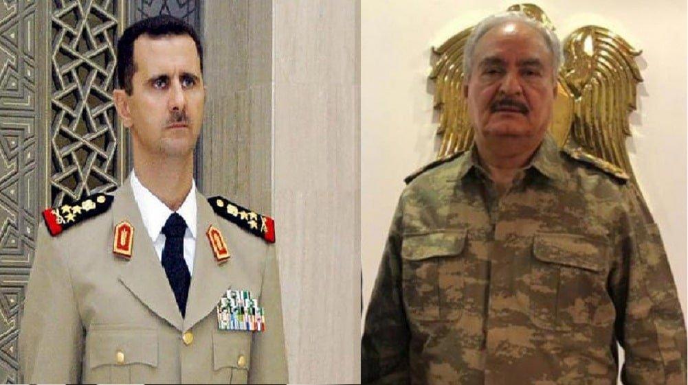 Башар аль-Асад объединяет силы с ливийским фельдмаршалом Халифой Хафтаром для борьбы против турецкой агрессии