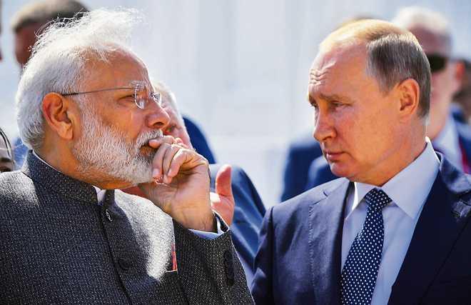 Укрепляя связи с Россией, Индия надеется оттеснить Китай