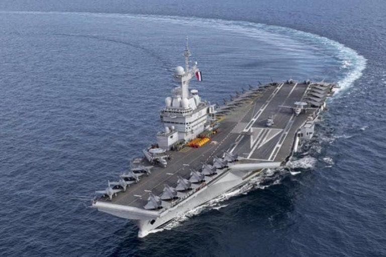 Баланс сил в Восточном Средиземноморье меняется: Франция направляет в район атомный авианосец
