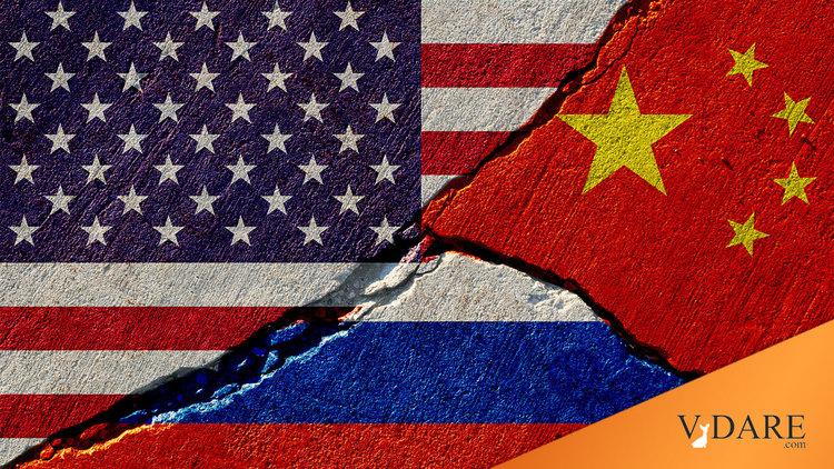 Патрик Бьюкенен: за что мы должны воевать с Россией и Китаем?