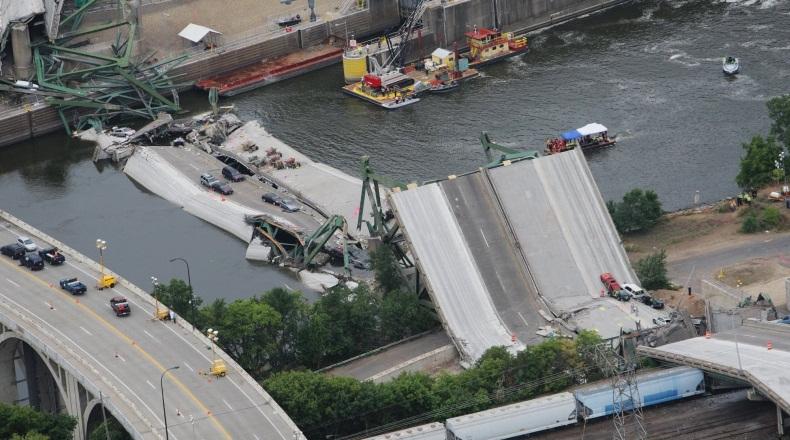 Почему рассыпаются американские мосты