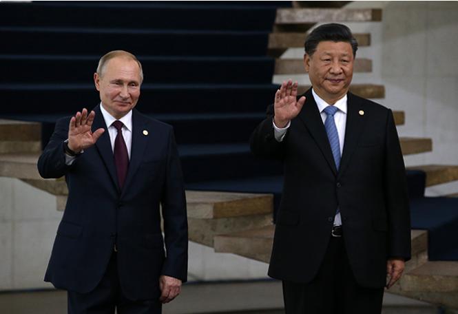 Хайтектонический сдвиг в  сотрудничестве России и Китая