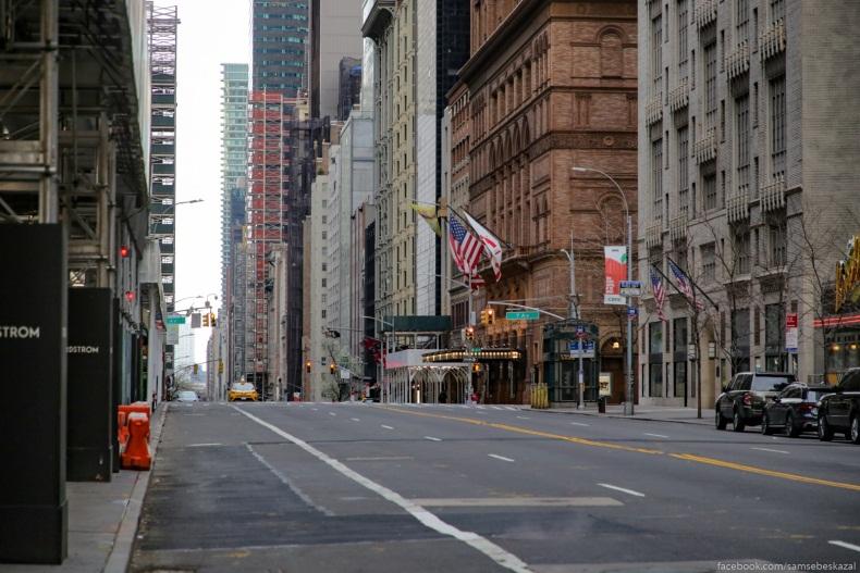 Гнилое яблоко: «Нью-Йорк так же мёртв, как и год назад»