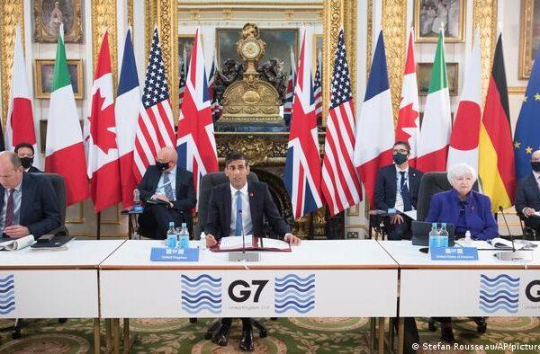 G7 критикует Китай и Россию, хотя реальная проблема заключается в плохом планировании
