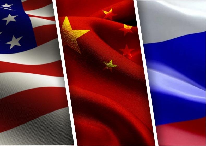 Китай против США и против России