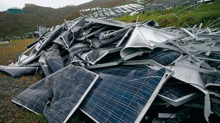 Солнечная и ветровая энергетика рискуют утонуть в собственных отходах