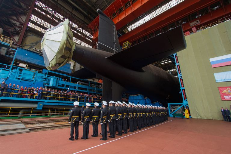 Как выглядят новейшие американские субмарины в сравнении с российскими