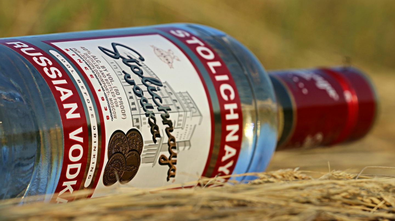 Потребление водки в России неуклонно снижается