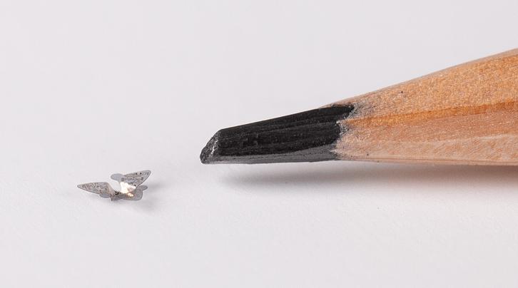 Летающие микрочипы  размером с песчинку могут использоваться для наблюдения за населением